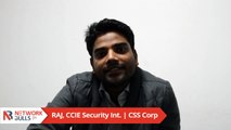 Raj's Network Bulls CCIE Placement Review - CCIE Security Training in India