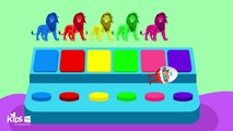 Learn Colors with Lion King Surprise Eggs Colours for Kids to Learn Learning Videos