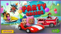NICK JR. Full Episode in English Nick Jr Movie Games - NICK JR. Party Racers Dora The Explorer
