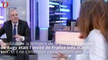 Le gros lapsus d'une journaliste qui parle de « la tombe de François Hollande »