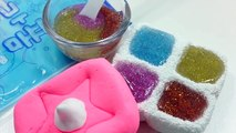 DIY How To Make Colors Kinetic Sand Big Balls Learn Colors Orbeez Baby Doll Bath Time