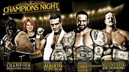 Catch Wrestling Weltmeisterschaft: Champions Night - 30.12.2016