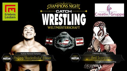"Catch Wrestling: Red Scorpion vs. Philipp ""RocknRolla"" Ebner"