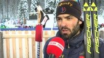 Biathlon - CM - Ruhpolding : S. Fourcade «Un cauchemar dès le début»