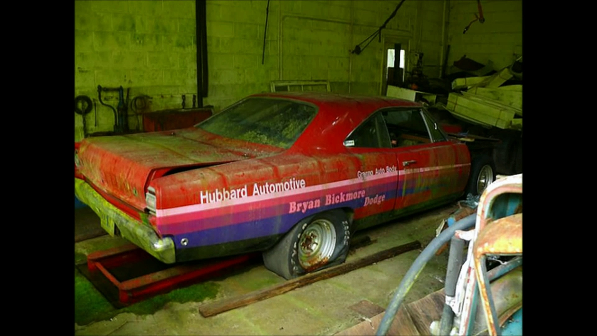 Abandoned Race Cars: Vintage Drag Race Cars, Abandoned Muscle Cars, Barn Find Drag Cars 2