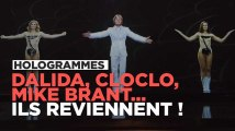Dalida, Cloclo, Mike Brant, Sacha Distel : ils reviennent !