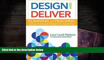 Epub Design and Deliver: Planning and Teaching Using Universal Design for Learning  BEST PDF