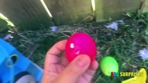 EASTER EGGS HUNT Learn Colors with Surprise Eggs Disney Cars Toys Lightning McQueen ABC SURPRISES