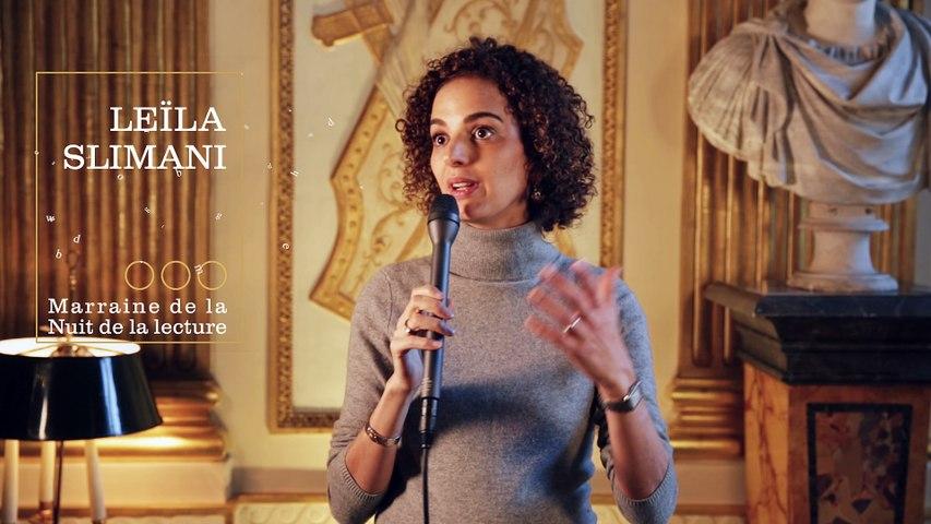 Leïla Slimani, marraine de la Nuit de la lecture 2017