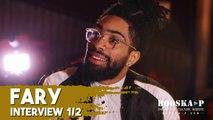 Fary évoque ses débuts d'humoriste, son look atypique, son angoisse des snaps [INTERVIEW 1/2]