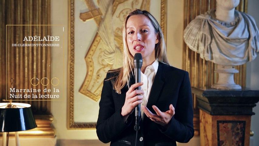 Adélaïde de Clermont-Tonnerre, marraine de la Nuit de la lecture 2017