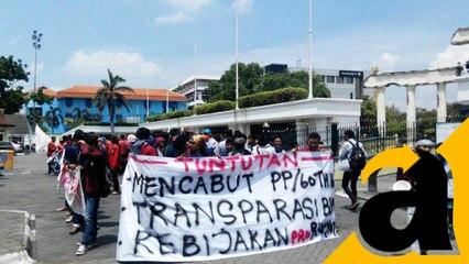 Demo Serentak BEM Se-Indonesia Tolak Kenaikan Harga-harga