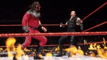 WWE Inferno Match Kane vs Undertaker - Kane On Fire