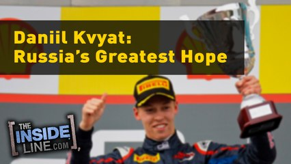 Daniil Kvyat: Russia's Greatest Hope