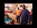 Football: Avant Côte d'Ivoire - Liberia, George Weah rend visite aux Elephants