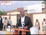 Audio/Societé:Le ministre Hamed Bakayoko a procédé à l'inauguration du 37e arrondissement