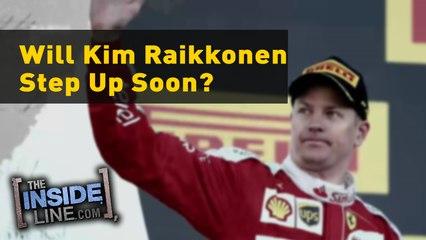 Will Kimi Räikkönen step-up soon?