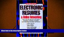 Download Electronic Resumes   Online Marketing,: Second Edition (Electronic Resumes   Online