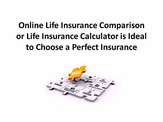 Online Life Insurance Comparison or Life Insurance Calculator is Ideal to Choose a Perfect Insurance