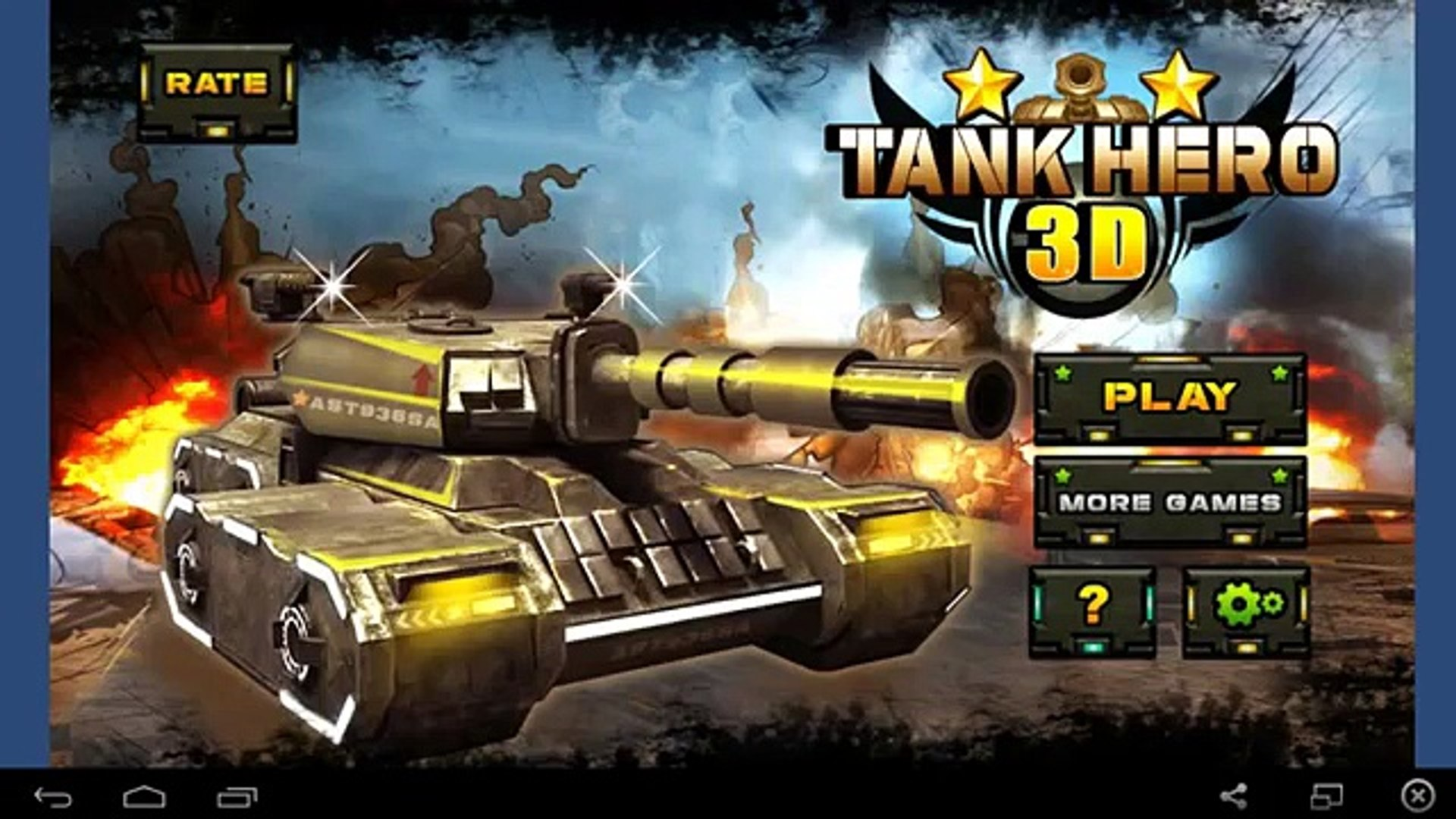Tank Hero 3D - for Android GamePlay