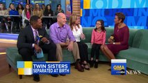 2 soeurs jumelles adoptées se rencontrent pour la première fois à 8 ans