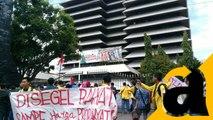 Sebelum ke Istana, BEM se-Indonesia Berkumpul di Patung Kuda