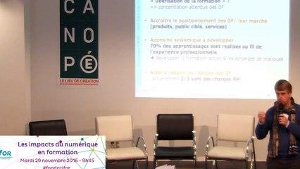 Les impacts du numérique en formation - Les atouts de la FOAD dans les enjeux de la réforme de la formation professionnelle - Dominique GROS