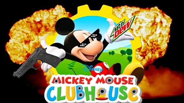 mickey mouse trap house
