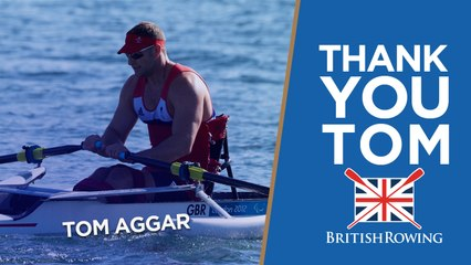 Good luck Tom | GB rower Aggar retires