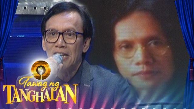 Tawag ng Tanghalan: Rey Valera's throwback picture