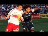 HIGHLIGHTS: New England Revolution vs New York Red Bulls, MLS July 8th, 2012