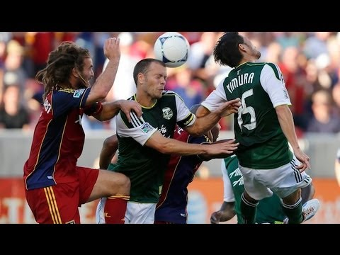 HIGHLIGHTS: Real Salt Lake vs Portland Timbers, MLS July 7th, 2012