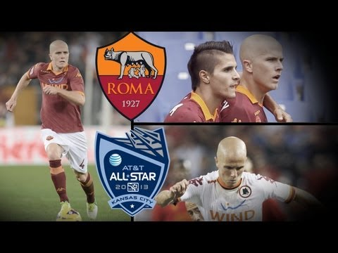 Michael Bradley reacts to AS Roma playing in the 2013 AT&T MLS All-Star Game