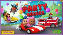 Bubble Guppies Party Racers Animated Cartoon Children Game-NickJr Party Racers