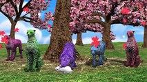 Animals 3d Animation Nursery Rhymes | Nursery Rhymes Collection | Popular English Nursery Rhymes