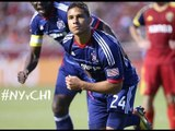 GOAL: Quincy Amarikwa heads home a corner for the Fire | New York Red Bulls vs. Chicago Fire