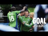 GOAL: Chad Barrett flicks in the game-winner for Seattle | Seattle Sounders vs. Sporting KC