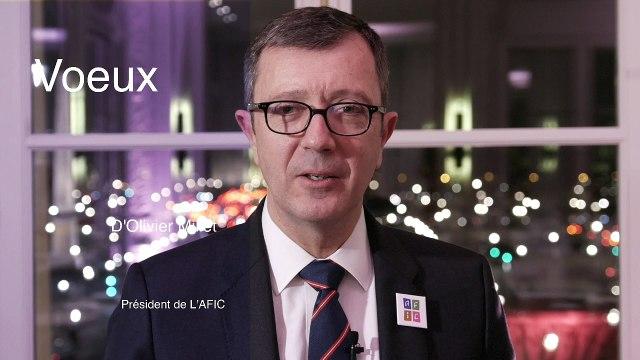 2017 : L'année d'une ambition collective - Voeux d'Olivier MILLET, Président de l'AFIC