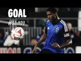 PK GOAL: Khari Stephenson gets the brace from the spot | San Jose Earthquakes vs Houston Dynamo