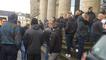 Manifestation d'agents pénitentiaires en soutien à un collègue en garde à vue