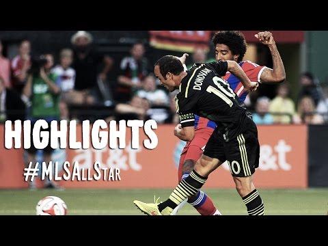 HIGHLIGHTS: MLS All-Stars vs FC Bayern München   August 6, 2014