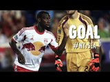 PK GOAL: Bradley Wright-Phillips squeezes his PK by Frei | New York Red Bulls vs Seattle Sounders