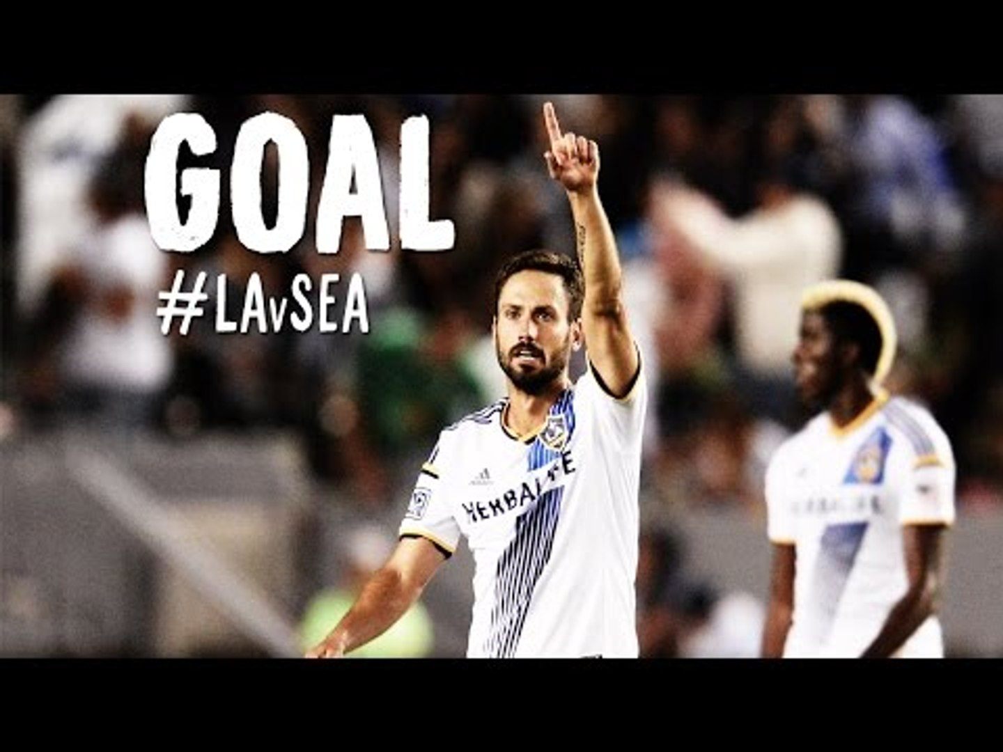GOAL: Marcelo Sarvas gives the Galaxy the lead | Los Angeles Galaxy vs. Seattle Sounders