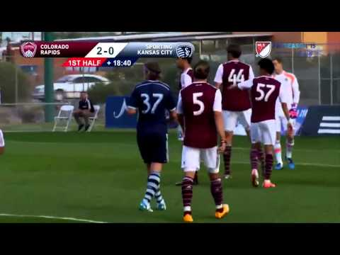 HIGHLIGHTS: Colorado Rapids vs. Sporting Kansas City   MLS Preseason 2015