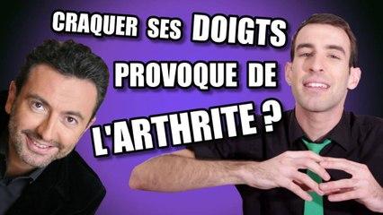 IDÉE REÇUE #19 : Craquer ses doigts provoque de l'arthrite ? (feat. Gérald Dahan)