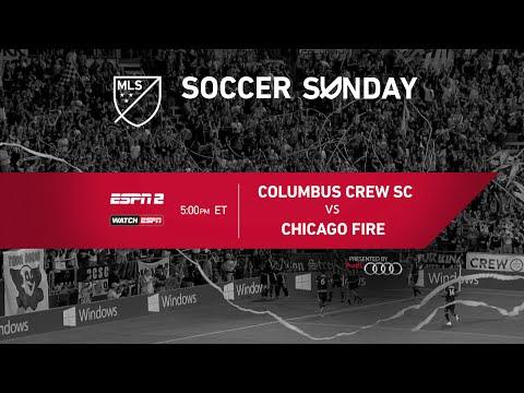 MLS Soccer Sunday: Columbus Crew SC vs Chicago Fire
