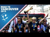 Sights and Sounds: Women's World Cup Victory Parade in New York City