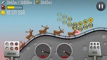 Hill Climb Racing GamePlay HD Sledge fully upgraded