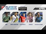 Etihad Airways Player of the Month Nominees for April