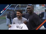 David & Didi: Fútbol meets baseball in the Big Apple